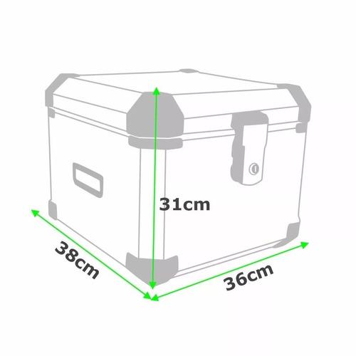 kit com 3 bau moto roncar kit completo top case bmw f800gs