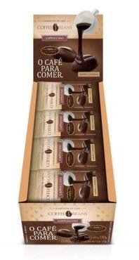 kit com 3 caixas de cafe para comer cofee beans