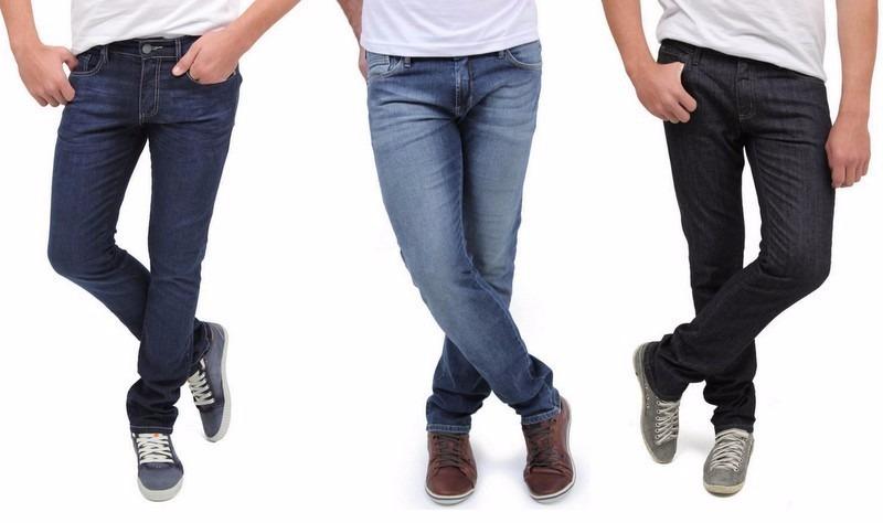2c13573ab kit com 3 calças jeans masculina atacado skinny tradic lycr. Carregando  zoom.