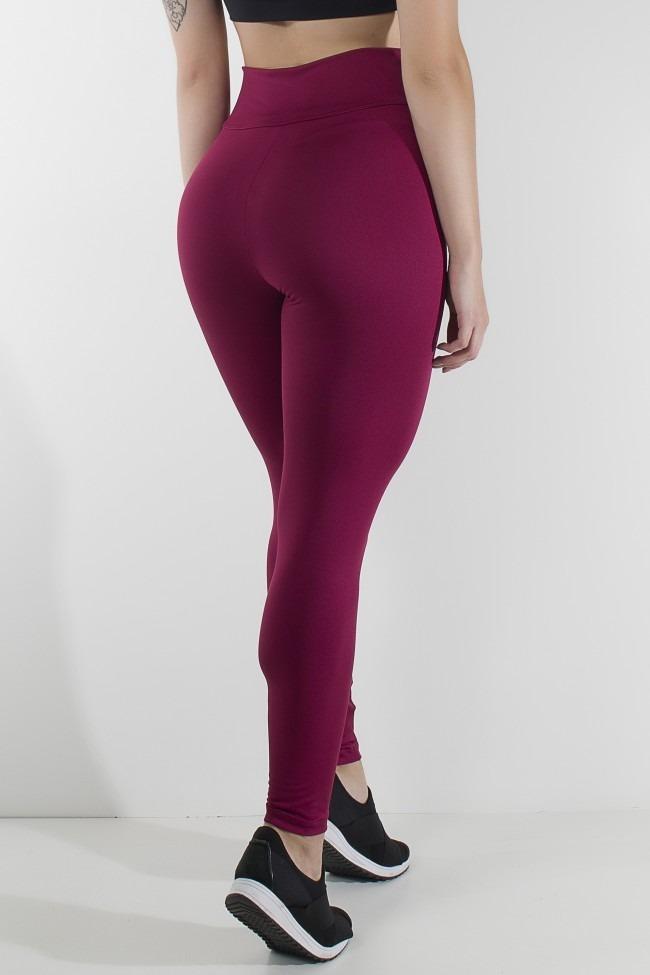 16dc35f01 kit com 3 calças legging feminino moda fitness academia. Carregando zoom.