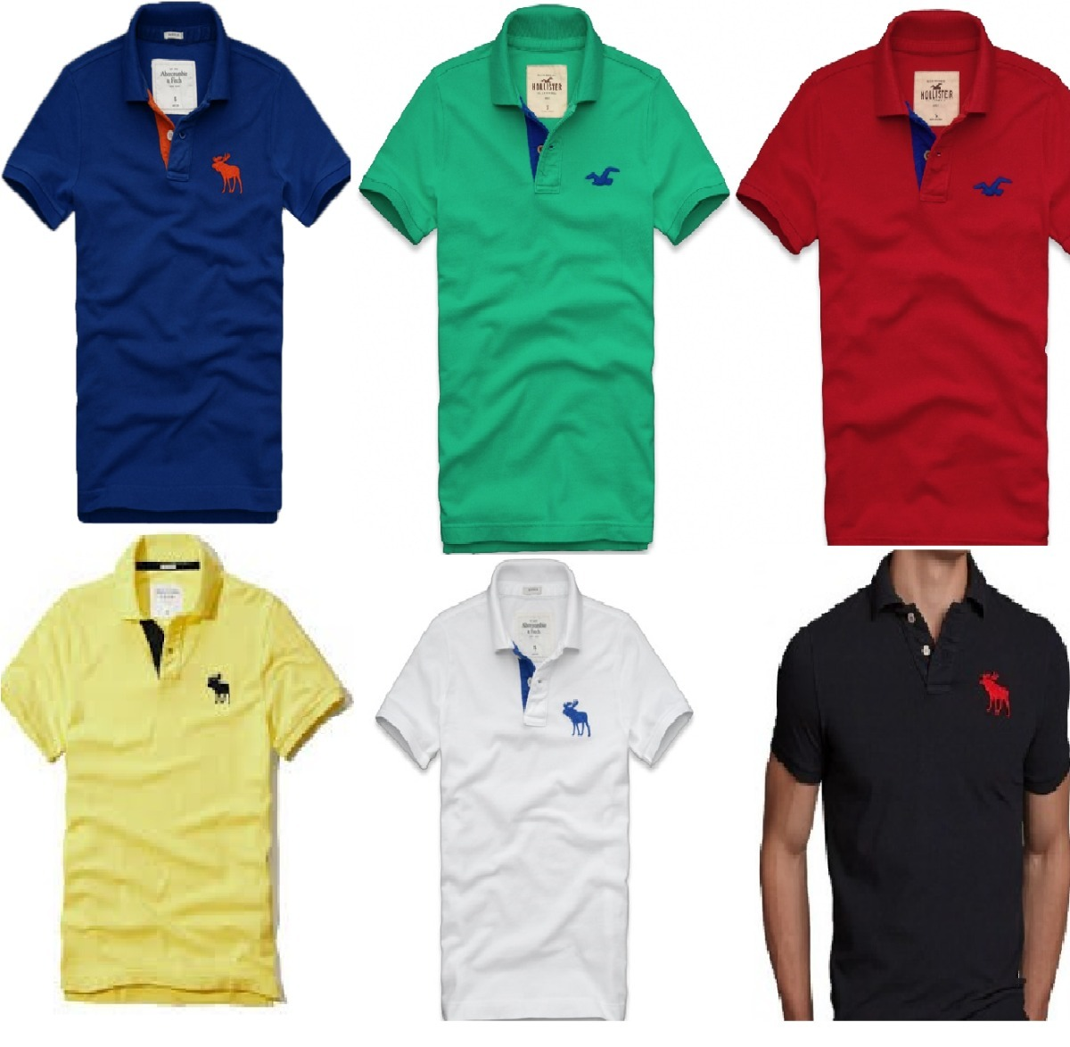 kit com 3 camisas polo masculinas algodão atacado revenda. Carregando zoom. 78ea94256fa7a