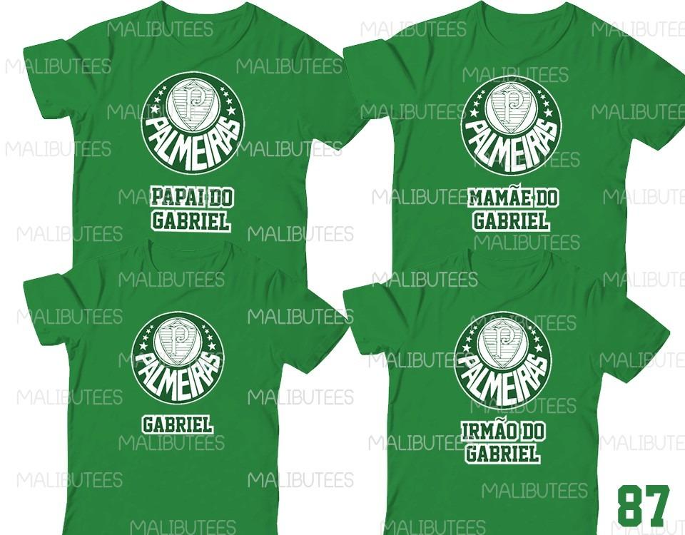 a0a7eef80c114 kit com 3 camiseta palmeiras time aniversario. Carregando zoom.
