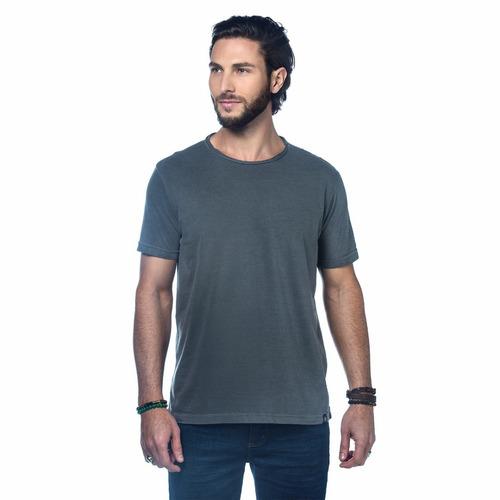 kit com 3 camisetas lisas algodão malha 30.1 penteada