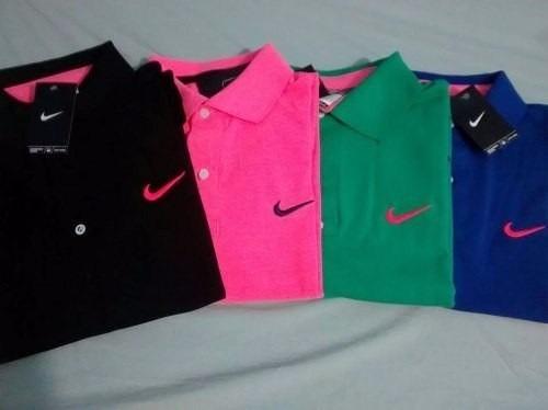 Kit Com 3 Camisetas Polo Nike Varias Cores Preço Atacado - R  89 b1fe9d50a14c5