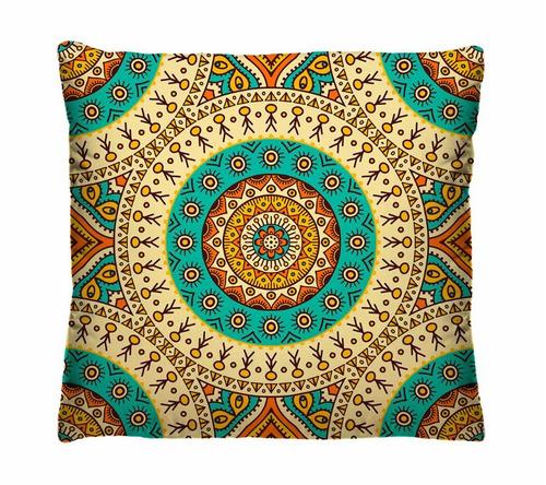 kit com 3 capas de almofadas decorativas coloridas