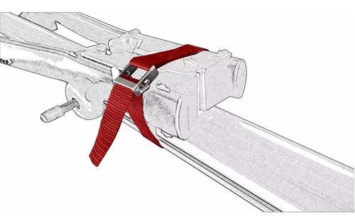 kit com 3 cintas transbike eqmax velox aço peça reposiçã