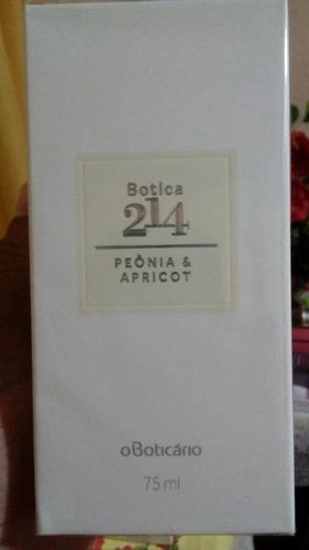 kit com 3 colónias da 214 da boticário.