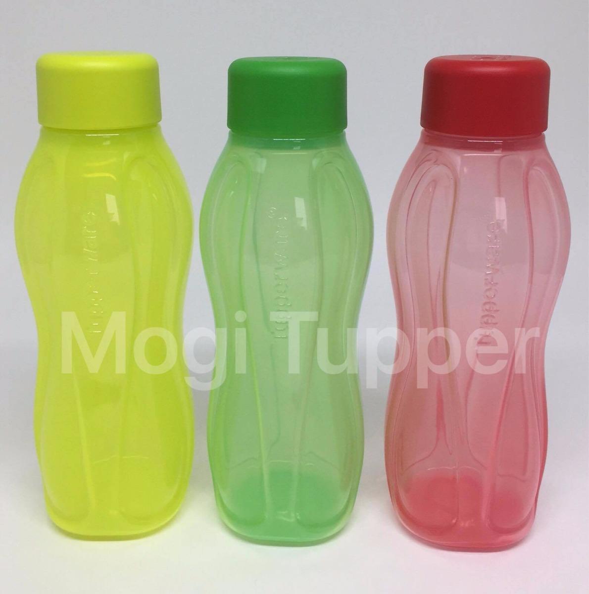 Kit Com 3 Eco Garrafas 310ml Tupperware R 9000 Em Mercado Livre 4 Neon Bottle