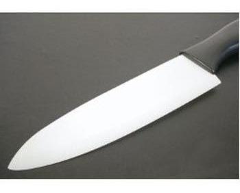 kit com 3 facas em cerâmica zircônia 4, 5 e 6 polegadas