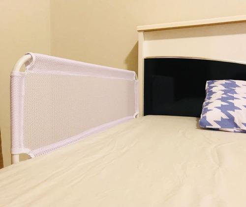 kit com 3 grade de cama com tela de segurança bebês e idosos