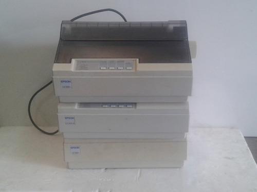 kit com 3 impressoras matriciais epson lx 300 (no estado)