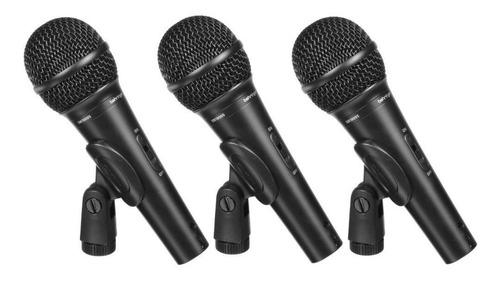 kit com 3 microfones xm-1800s - behringer