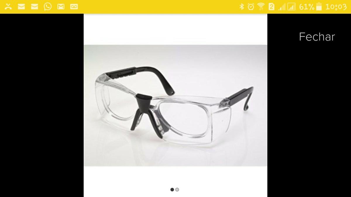 Kit Com 3 Óculos De Proteção Para Lentes Corretivas Ca.15618 - R  29 ... f548515905