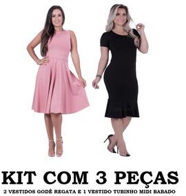b88423539 Vestidos Femininas em São Vicente no Mercado Livre Brasil