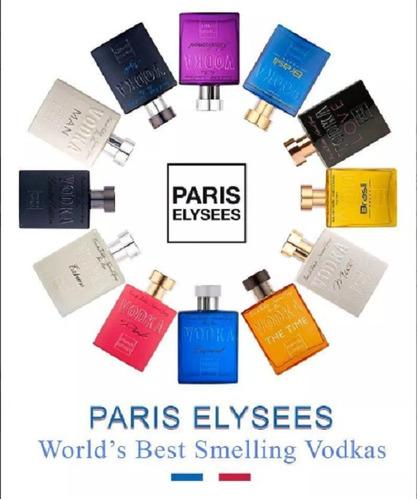 kit com 3 perfumes paris elysees 100 ml atacado