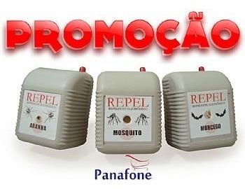 kit com 3 repelentes eletrônicos repel mosquito