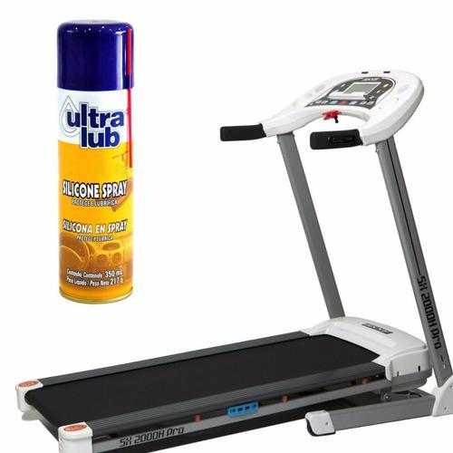 kit com 3 silicone spray para lubrificar esteira eletrica
