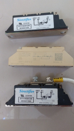 kit com 3 tiristor