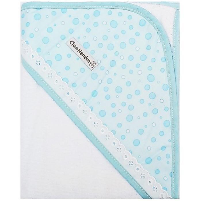 8a4f50a288f93a Kit Com 3 Toalhas De Banho 100% Algodao Cia Do Nenem Azul