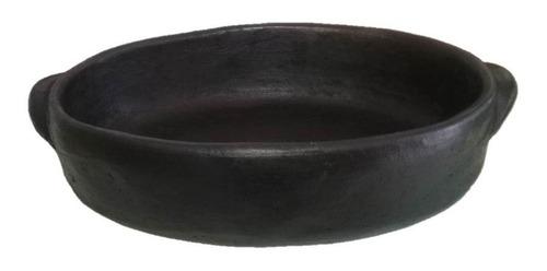 kit com 3 travessas de barro oval capixaba  p m g