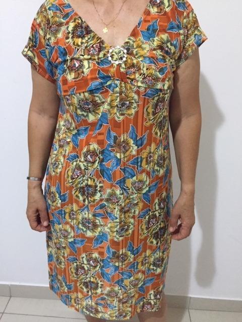 83d846d76b6e Kit Com 3 Vestido Moda Evangelica Senhora Praia Plus Size - R$ 119 ...