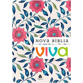 Kit Com 32 - Nova Bíblia Viva Floral - Ganhe 3 Brindes