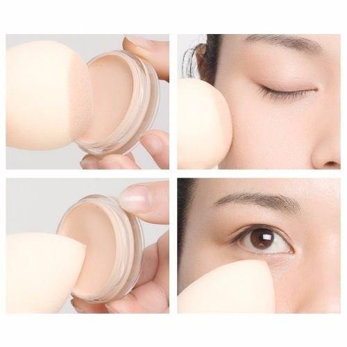 kit com 32 esponjas tipo beauty blender maquiagem corretivo