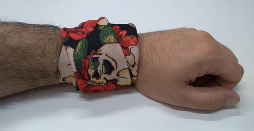 kit com 4 bandanas floral vcstilo pra combinar qualquer look