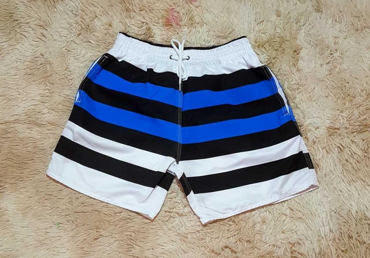9a7298ff9c Kit Com 4 Bermudas Shorts Praia Tactel Mauricinho Promocao