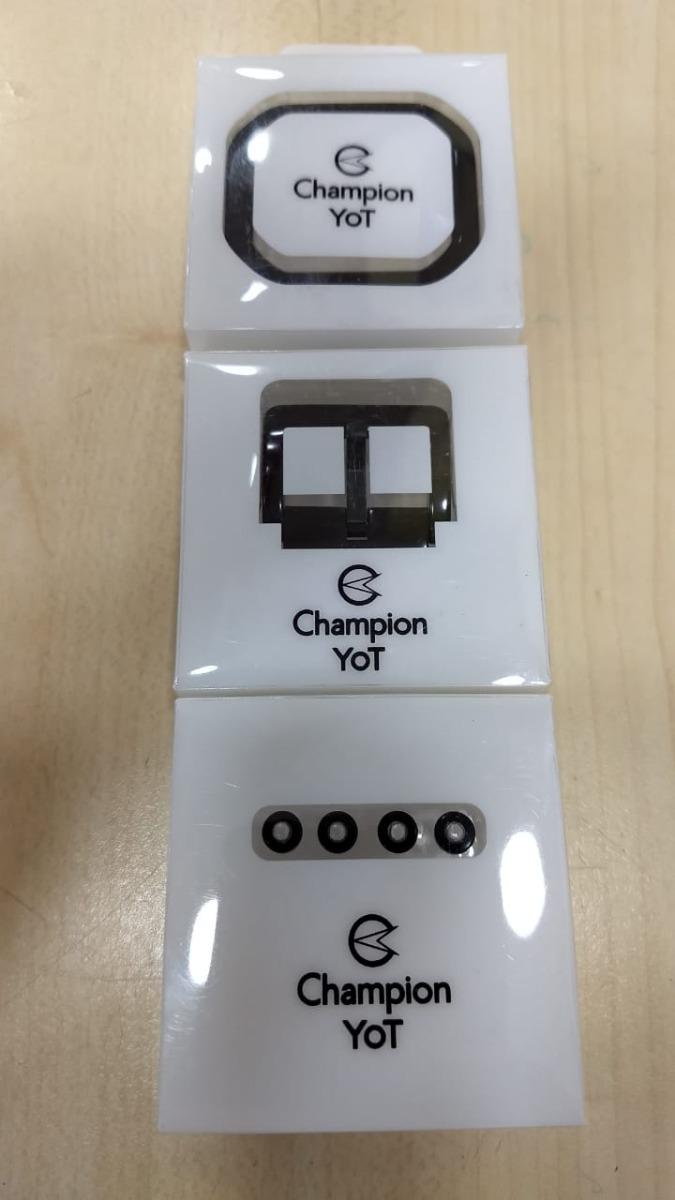 58a946e24c6 Kit Com 4 Botões 1 Fivela E 1 Aro Champion Yot Originais - R  79