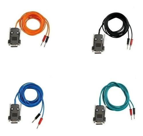 kit com 4 cabos para aparelho heccus da ibramed