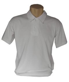325f8e935a Kit 5 Camisa Polo Com Bolso Malha Algodão Em Cores Sortidas