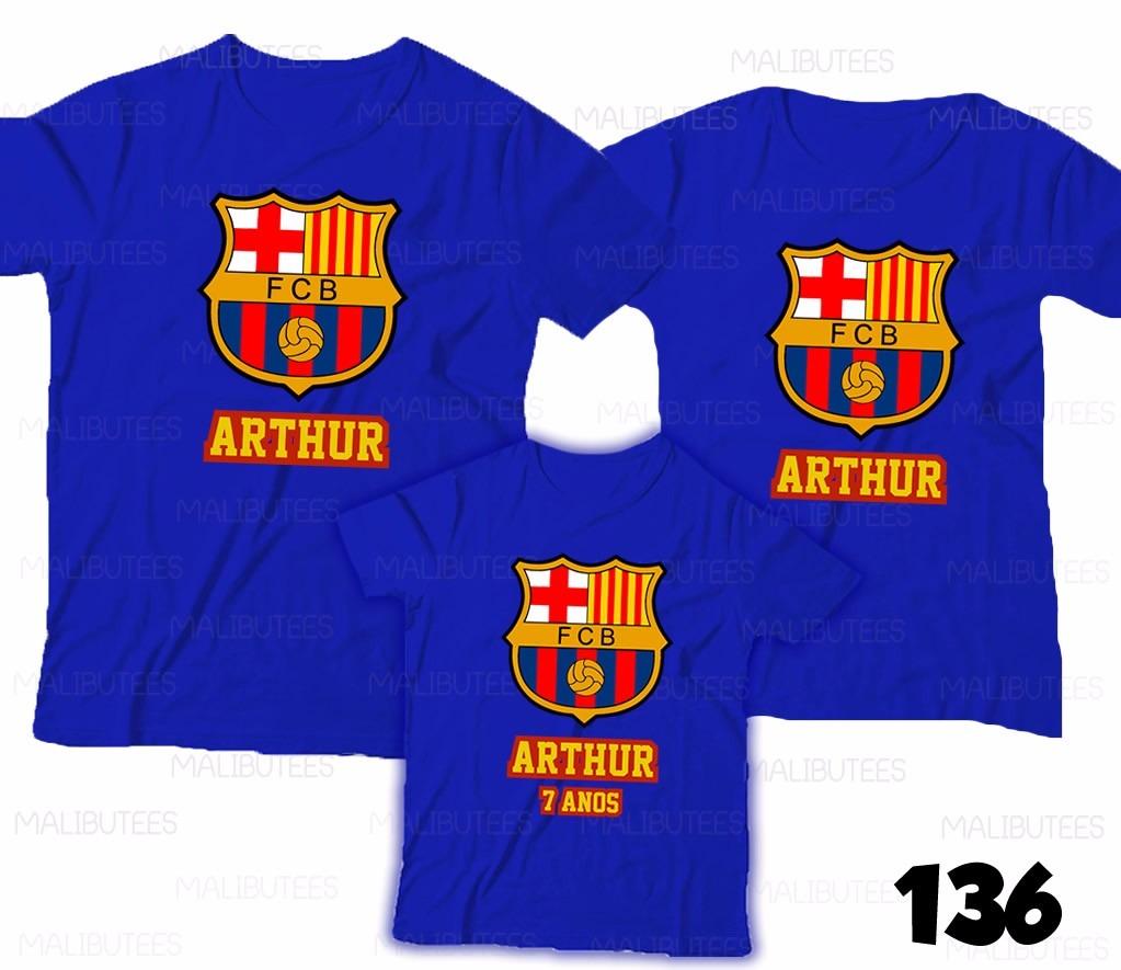 70cb67f7a9 ... camiseta barcelona time personalizada - ref00. Carregando zoom.