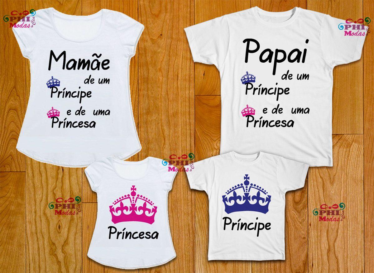 426d5237b kit com 4 camisetas personalizadas para festa infantil. Carregando zoom.