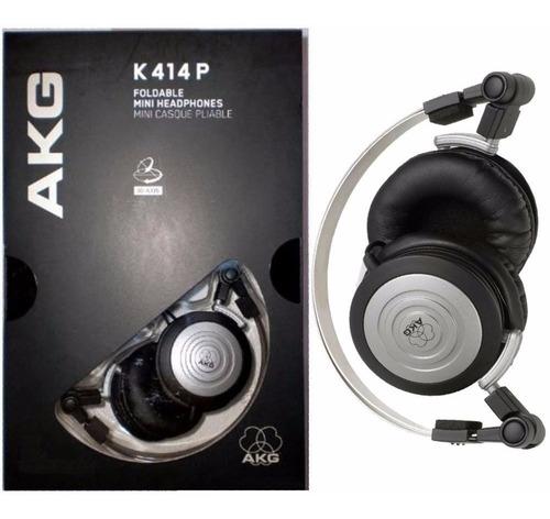 kit com 4 fones de ouvido akg k414p 414p k414 original + bag