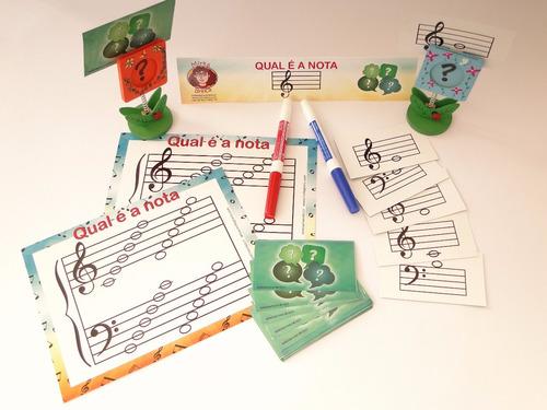 kit com 4 jogos de música - mirka brinca!