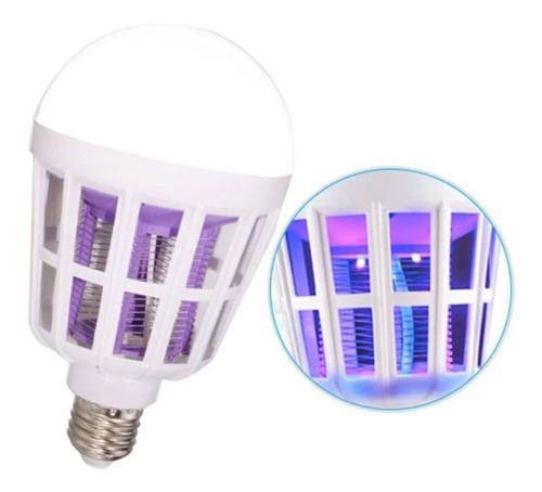 kit com 4 lâmpada led mata mosquito insetos pernilongo 15w