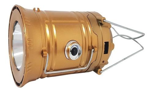 kit com 4 peças lampião lanterna solar elétrico tm 6006