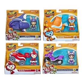 Kit Com 4 Veiculos Top Wing Rod Swift Baddy E Betty Hasbro