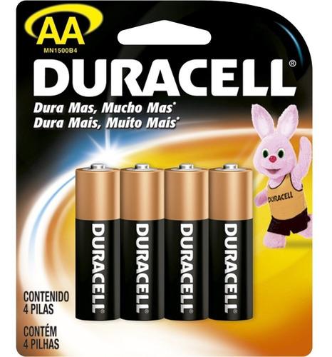 kit com 40 pilhas aaa e 40 pilhas aa duracell+brinde 4 pilha