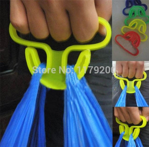 kit com 5 alça suporte para carregar sacolas