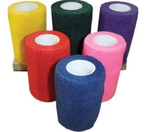 kit com 5 bandagens flexível - elástica promoção