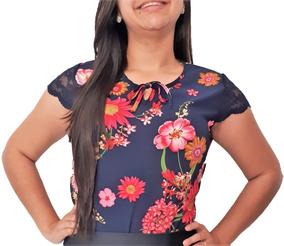 0ed988955073 Blusas Crepe Kit - Blusas Femininas com o Melhores Preços no Mercado Livre  Brasil