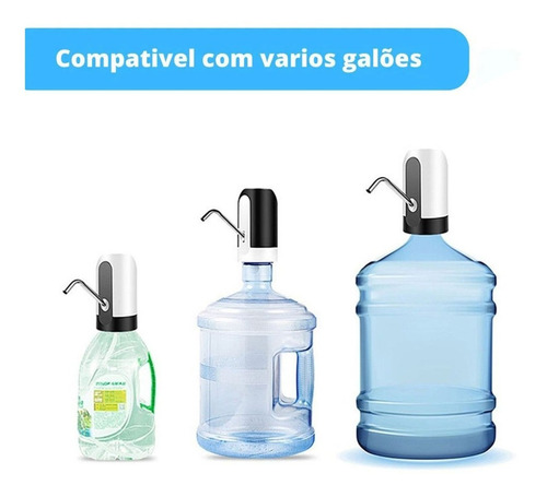 kit com 5 bombas elétricas para garrafão de água