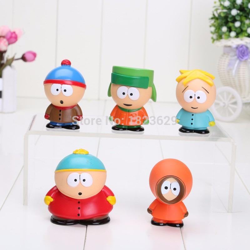 9b11ea23e3 Kit Com 5 Bonecos Do South Park Action Figure - R$ 38,90 em Mercado ...