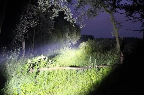 kit com 5 lanterna tatica profissional cree led police