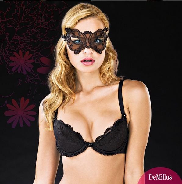 d9b67edad Kit Com 5 Máscara Chic Um Acessório De Sedução   Demillus - R  120 ...