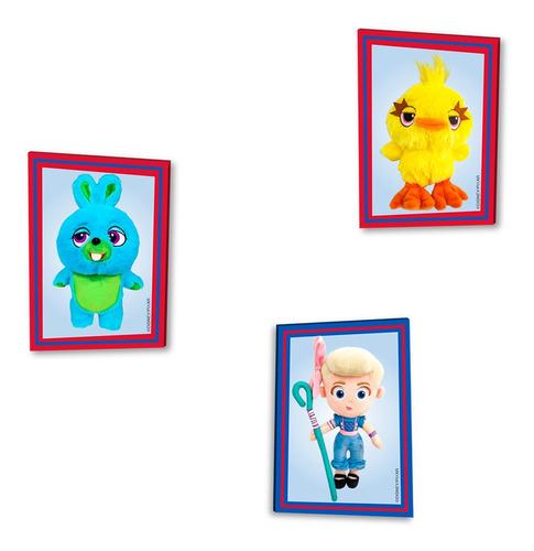 kit com 5 pelúcias toy story 4