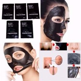 kit com 5 saches mascara removedora de cravos