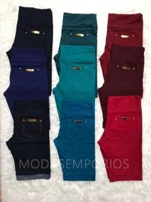 9a37c56da Shorts Malha Imita O De Jeans - Calçados, Roupas e Bolsas no Mercado Livre  Brasil